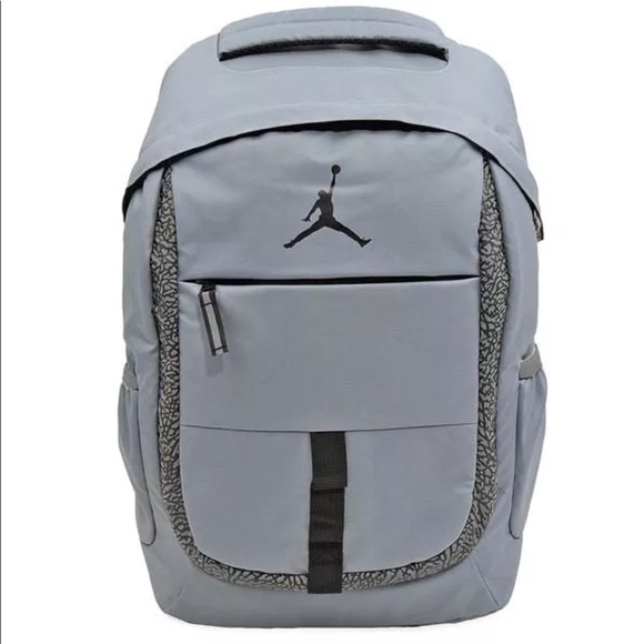 6ca28290c9a958 Nike Air Jordan Jet Backpack Cool Grey